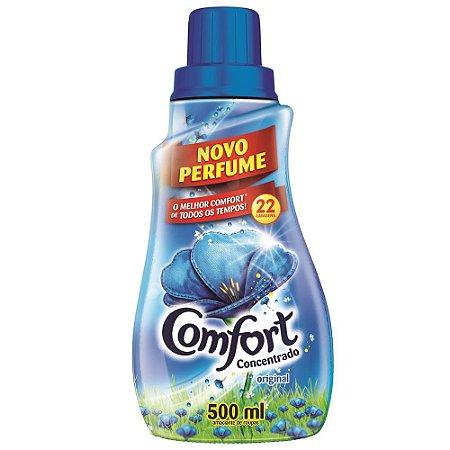 Amaciante de Roupa Confort Azul Concentrado 500ml