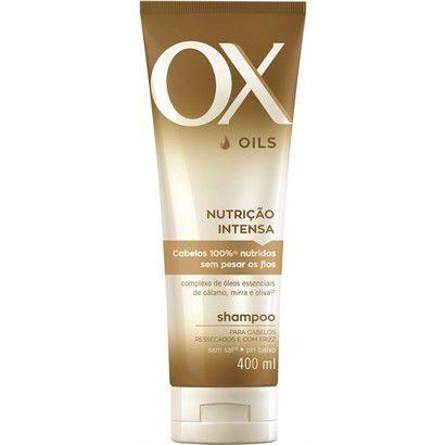 Shampoo OX Nutrição Intensa 400ml
