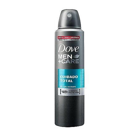 Desodorante Dove Aerosol Men+Care Cuidado Total 150ml