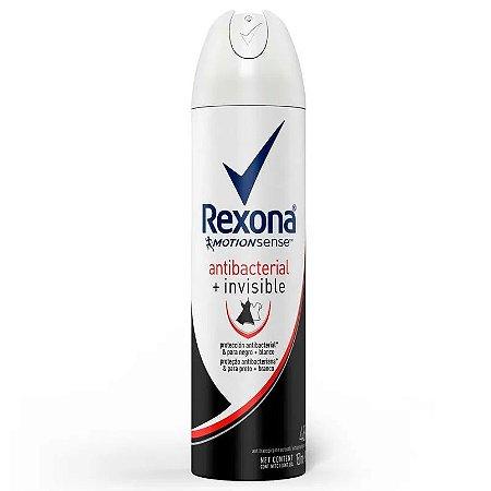 Desodorante Rexona Aerosol Feminino Antibacterial+Invisible 150ml