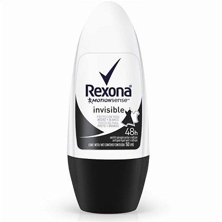 Desodorante Rexona Roll-On Invisible 50ml