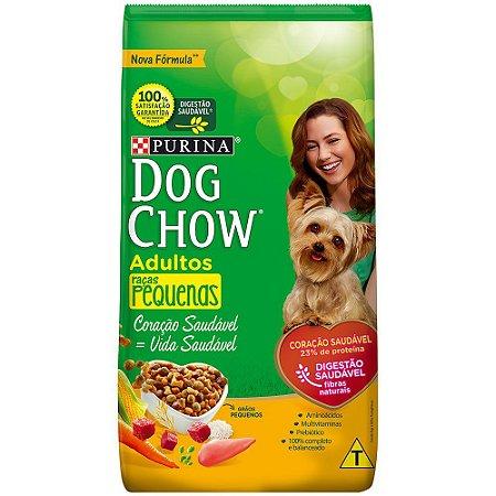 Ração para Cães Dog Chow Adulto Raças Pequenas 3kg