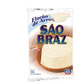 Flocão de Arroz São Braz 500g