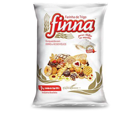 Farinha de Trigo Finna sem Fermento 1kg