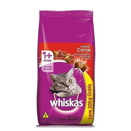 Ração para Gatos Whiskas Carnes 2,7kg