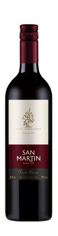 Vinho Tinto Suave San Martin 750ml