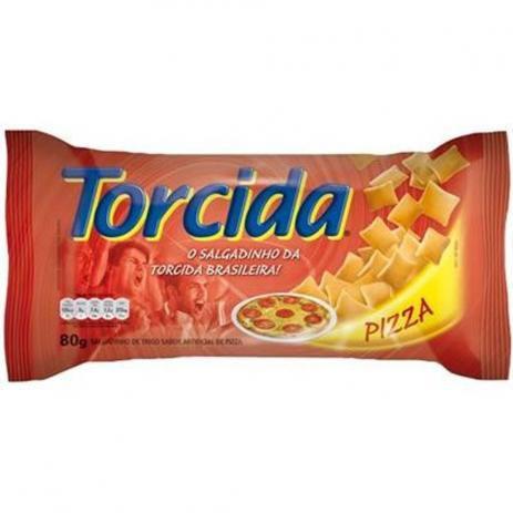 Salgadinho Lucky Torcida de Pizza 80g