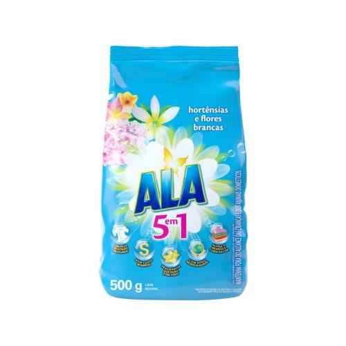Detergente em pó Ala Hortênsias 500g