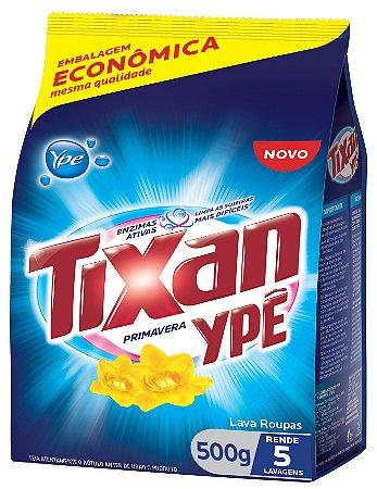 Detergente em pó Tixan Primavera 500g
