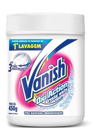 Alvejante em pó Vanish O2 White 450g
