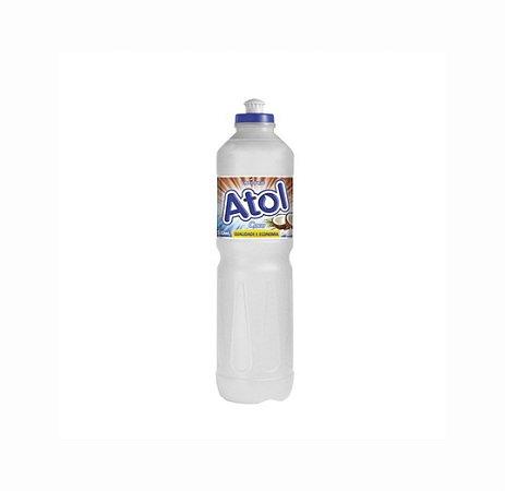 Detergente Líquido Atol Coco 500ml