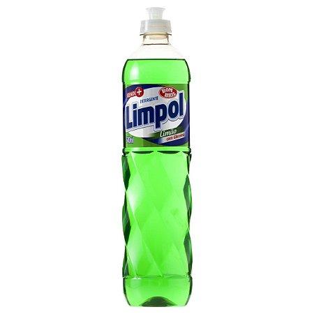 Detergente Líquido Limpol Limão 500ml