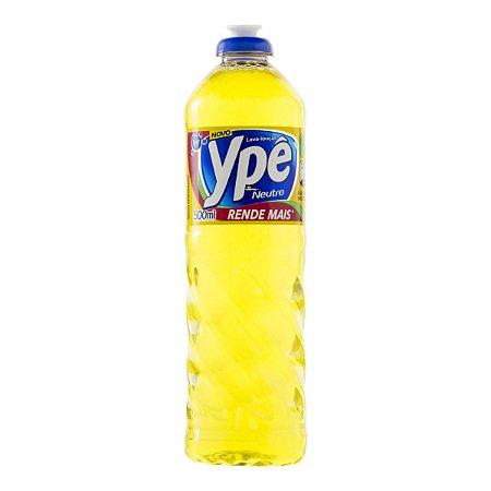 Detergente Líquido Ypê Neutro 500ml