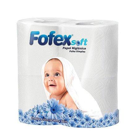 Papel Higiênico Fofex 4 rolos 30m