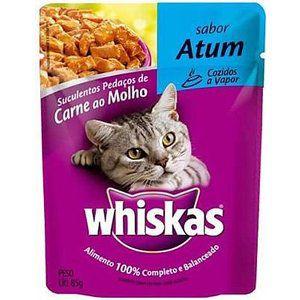Ração para Gatos Whiskas Atum 85g