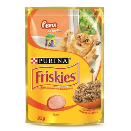 Ração para Gatos Friskies Filhotes Peru 85g
