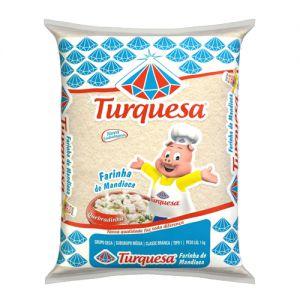 Farinha de Mandioca Turquesa Premium 1kg