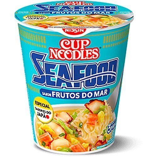 Macarrão Instantâneo Cup Noodles Frutos do Mar 67g