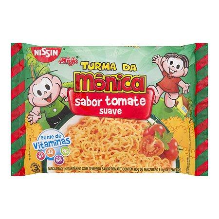 Macarrão Instantâneo Nissin Lamen Turma da Mônica Tomate 85g