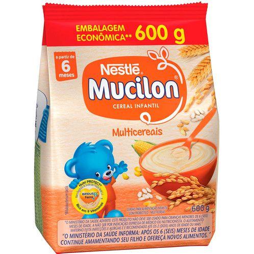 Mucilon Multicereais Sachê 600g