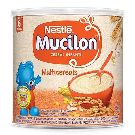 Mucilon Multicereais lata 400g