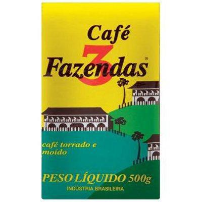 Café 3 fazendas Vácuo 250g