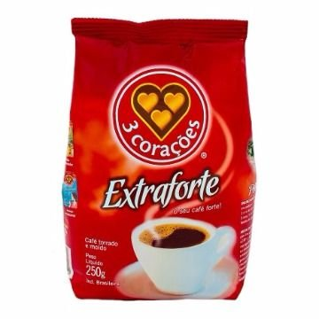 Café 3 Corações Extra Forte Almofada 250g