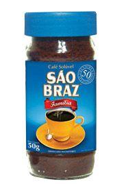 Café São Braz Solúvel Vidro 50g