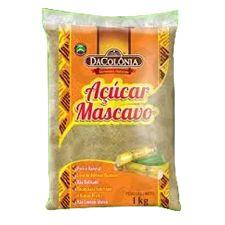 Açúcar Mascavo Dacolônia 1kg