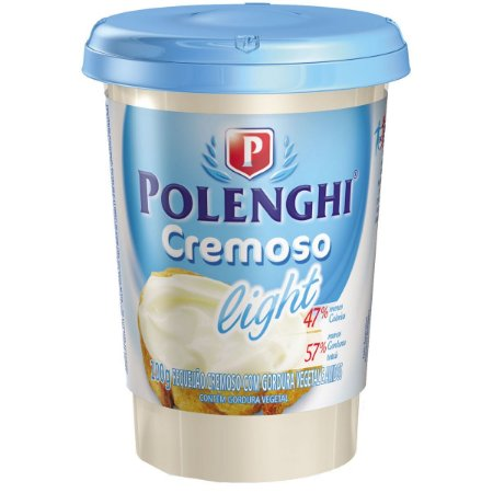 Requeijão Polenghi Light copo 200g