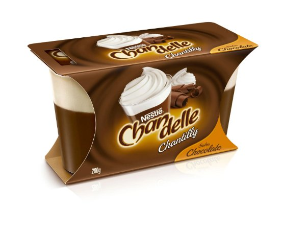 Sobremesa Nestlé Chandelle Chocolate com Chantilly 200g