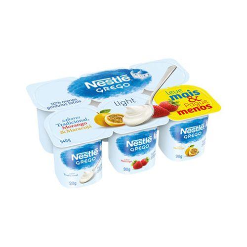 Iogurte Nestlé Grego sabores light 540g