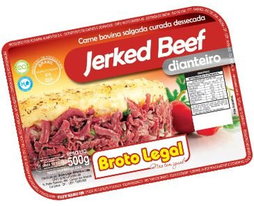 Charque Jerkeed Beef Rosarial (dianteiro) 500g