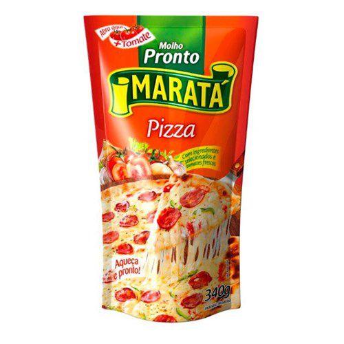 Molho de Tomate Maratá Pizza 340g