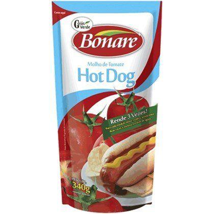Molho de Tomate Bonare Hot Dog 340g