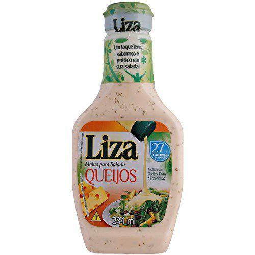 Molho para Salada Liza Queijos 234ml