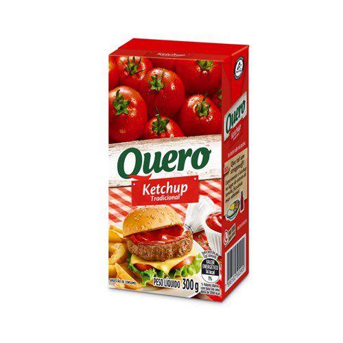Ketchup Quero Caixa 300g