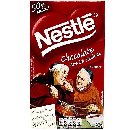 Chocolate em pó Nestlé Solúvel 50% Cacau 200g