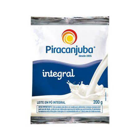 Leite em Pó Piracanjuba Integral 200g