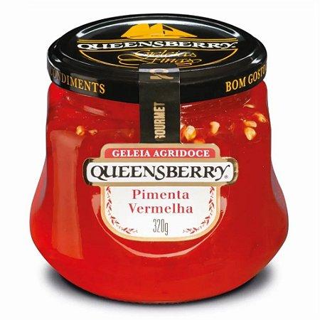 Geleia Queens Berry Pimenta Vermelha Vidro 320g