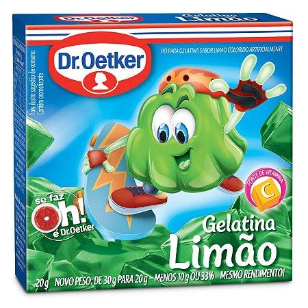 Gelatina Dr. Oetker Limão 20g