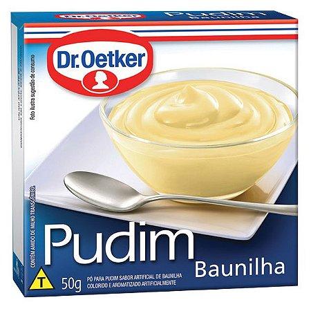 Pudim de Baunilha Dr. Oetker 50g