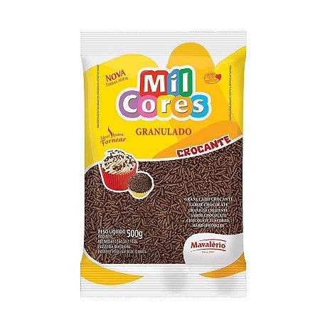 Chocolate Granulado Mavalério 500g