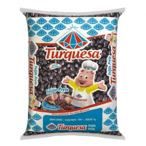 Feijão Preto Turquesa T.1. 1kg