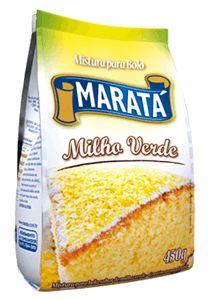Mistura para Bolo Maratá Milho Verde 450g