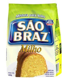 Mistura para Bolo São Braz Milho 400g