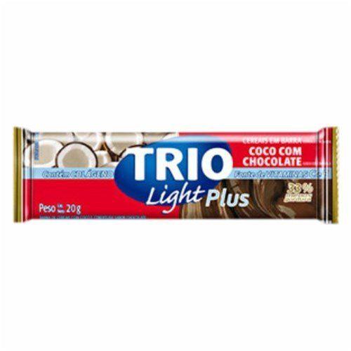 Barra de Cereais Trio Coco com Chocolate 20g