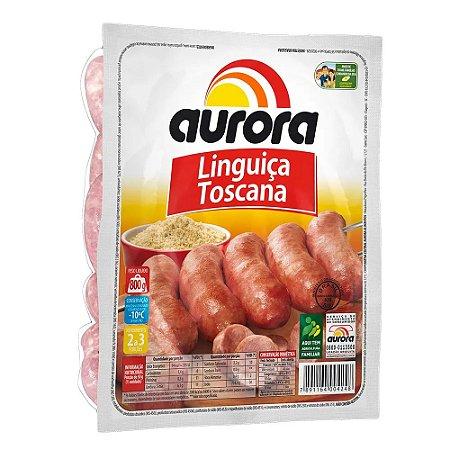 Linguiça Toscana Aurora Congelada 800g