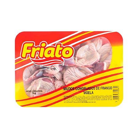 Moela de Frango Friato Congelada Bandeja 1kg