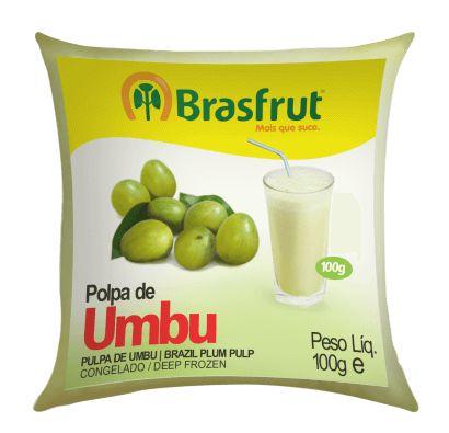 Polpa Brasfrut Umbu 1 unidade
